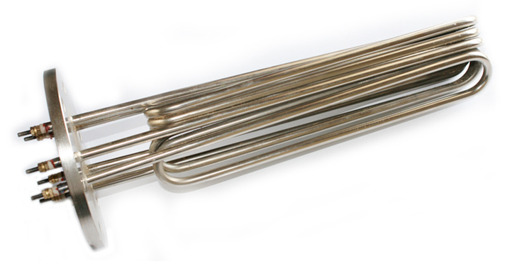 Flange Type Immersion Heater