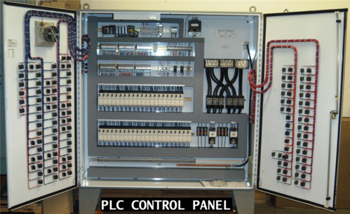 PLC panel with HMI & SCADA