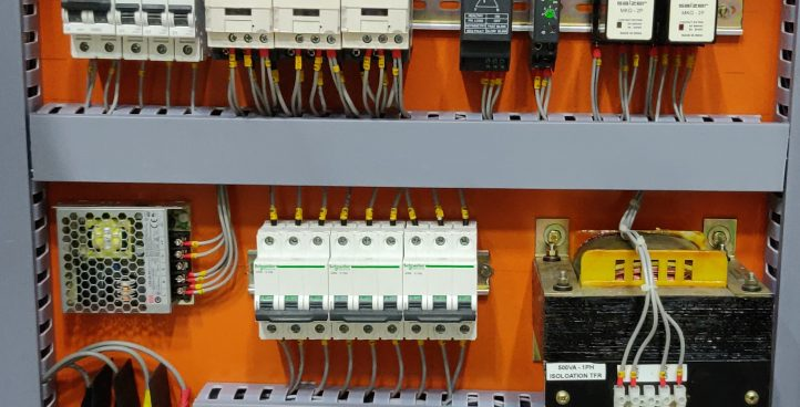 Contactor/SSR based Heater Control Panel